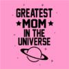 greatest mom light pink