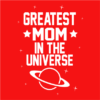 greatest mom red