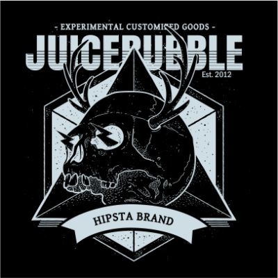 juicebubble skull 1 black