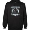 juicebubble skull 1 black hoodie