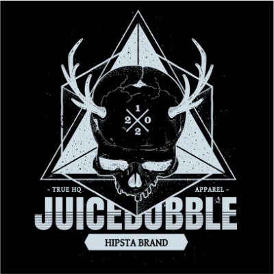 juicebubble skull black