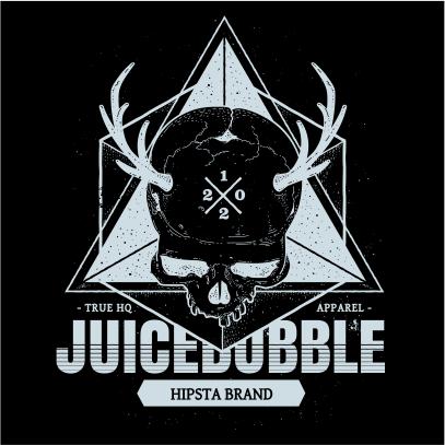 juicebubble skull black