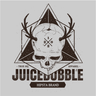 juicebubble skull grey