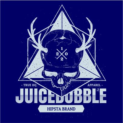 juicebubble skull navy