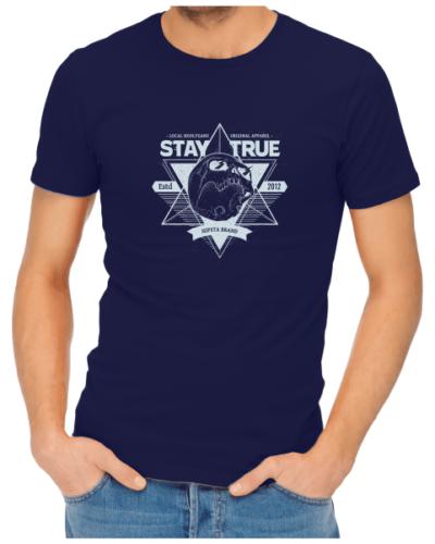 local hoolygans 1 mens navy shirt