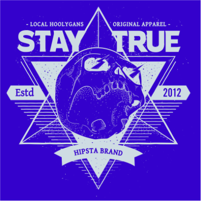 local hoolygans 1 royal blue