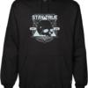 local hoolygans black hoodie