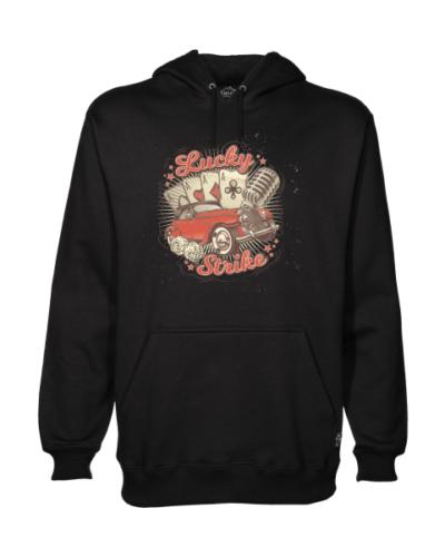 lucky strike black hoodie