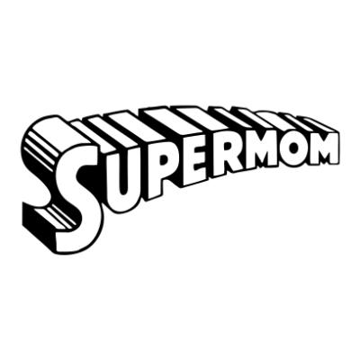 supermom 1 white