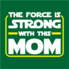 the force is strong bottle green