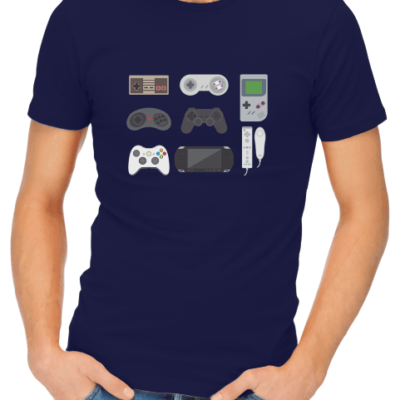 video game collection mens navy