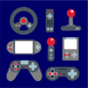 video game elements navy