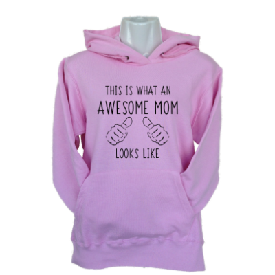 Awesome Mom Light Pink