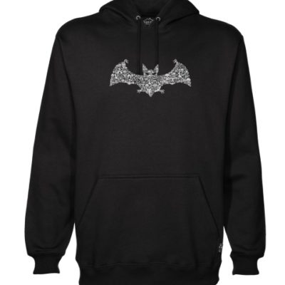 Bat Collage mens hoodie