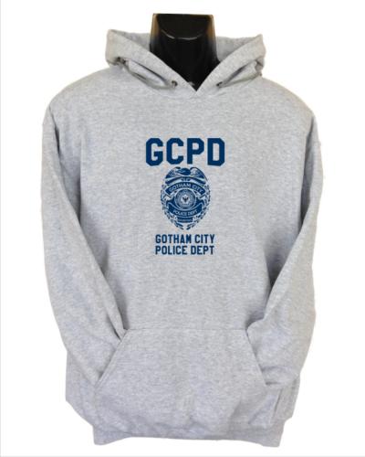 GCPD hoodie grey