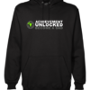 achievement unlocked mens black hoodie