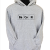 bacon grey hoodie
