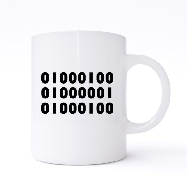 binary dad mug