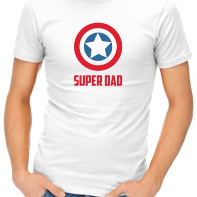 captain america super dad mens white shirt (1)