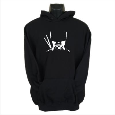 daredevil silhouette hoodie black