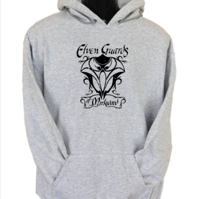 elven guards of mirkwood hoodie grey
