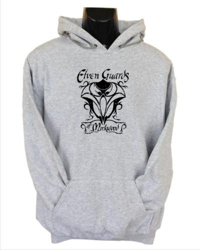 elven guards of mirkwood hoodie grey