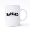 harvard just kidding mug