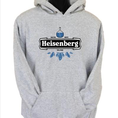 heisenberg 3 grey hoodie