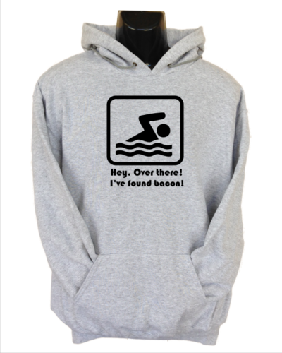 hey over there i found bacon grey hoodie