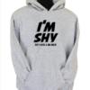 im shy black