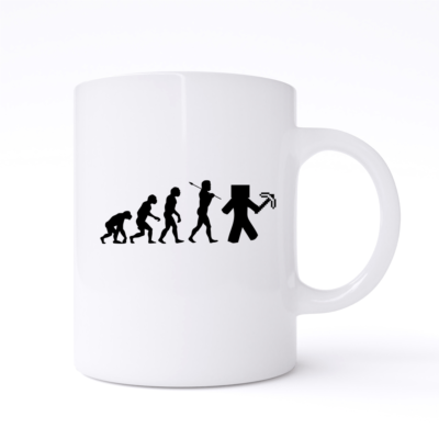 minecraft evolution mug