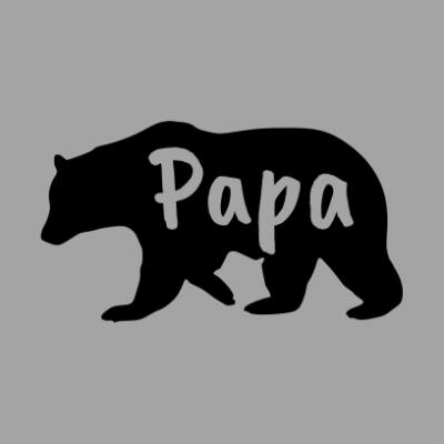 papa bear grey