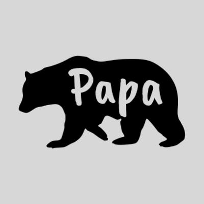 papa bear white