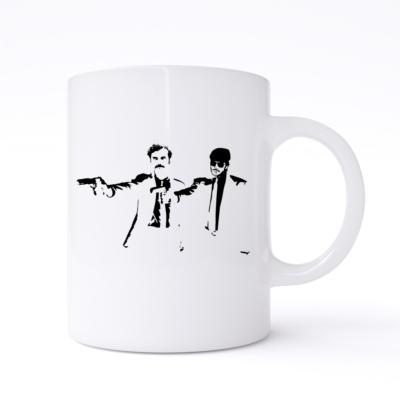 pulp fiction narcos mug