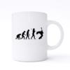 rock evolution mug
