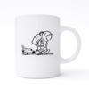 sad spaceman mug