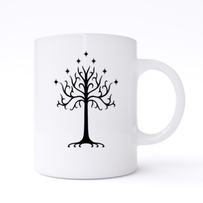 the tree of gondor mug