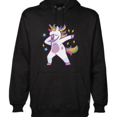 unicorn dab hoodie