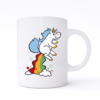 unicorn fart mug