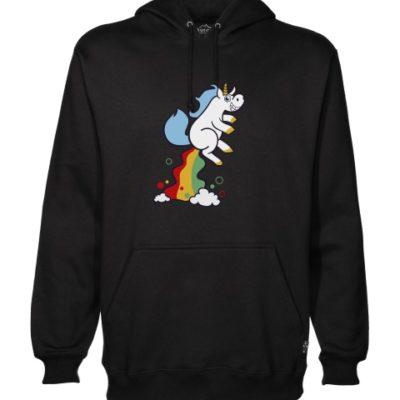 unicorn fart hoodie