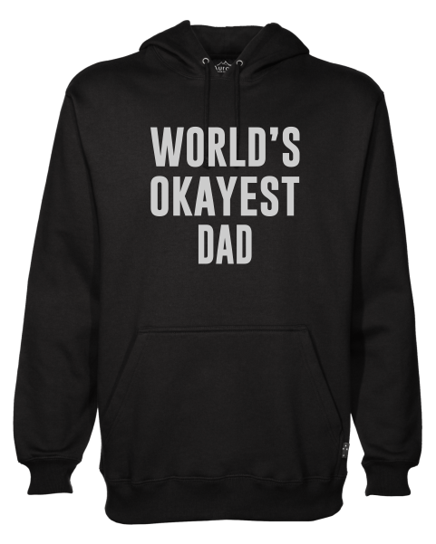 0bebd977 Worlds Okayest Dad Hoodie - JuiceBubble T-Shirts