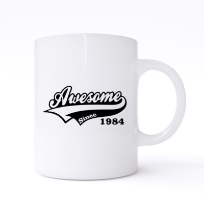 awesome since mug