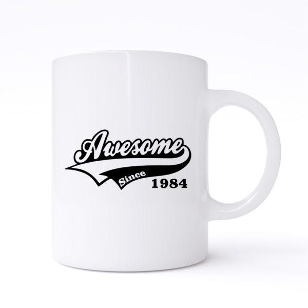 awesome since mug