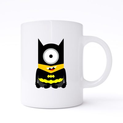 batman minion mug