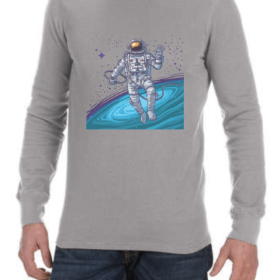 cosmonaut mens grey ls shirt