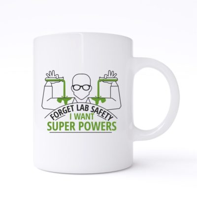 forget lab safety mug