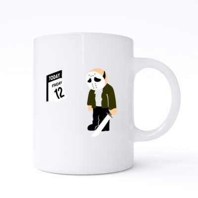 friday the 12th mug