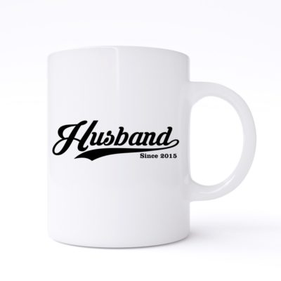 husband since mug