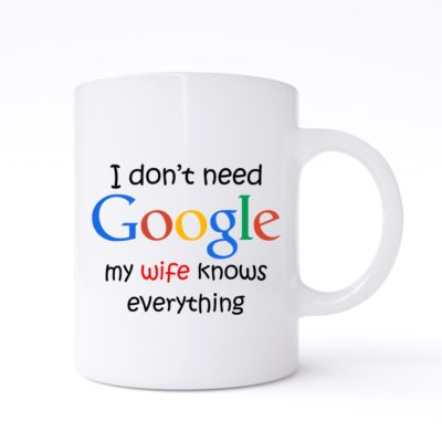 i dont need google mug