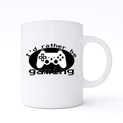 id rather be gaming mug